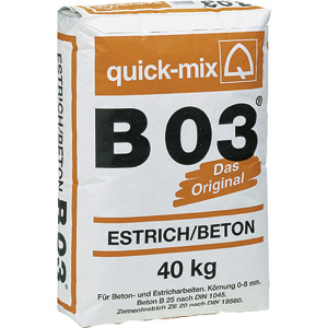 Quick-Mix Estrich/Beton B03